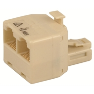 Jackson Double Adaptor RJ45 Type Connector Telephone Accessory
