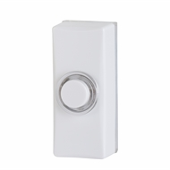 Arlec LED White Button Door Chime