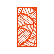 Protector Aluminium 600 x 900mm ACP Profile 20 Decorative Panel Unframed - Orange