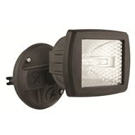 Brilliant 150W Black Flex Halogen Flood Light