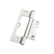 Zenith 75mm Zinc Plated Non Mortice Loose Pin Hinge