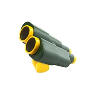 Swing Slide Climb Green / Yellow Binoculars