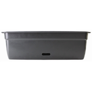 HomeLeisure 750mm Charcoal WaterSaver Contemporary Rectangular Planter