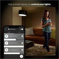 Philips Hue White Ambiance Bayonet Cap (B22) Dimmable LED Smart Bulb