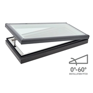 VELUX 665 x 1275mm Flat Roof Manual Skylight