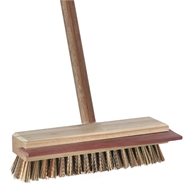 Oates Deck Scrub Brush With Squeegee