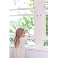 Remsafe Window Restrictor Cable Lock - White