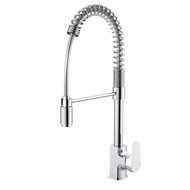 Dorf WELS 4 Star 7.5L/Min Chrome Viridian Pulldown Sink Mixer
