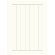 Kaboodle 450mm Antique White Country 1 Door /1 Drawer Panel Pack