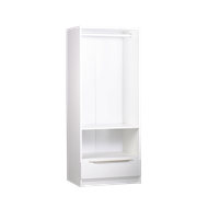 Multistore 1495 x 608 x 430mm Crisp White Maxi Ultra HS2 Wardrobe Storage Unit