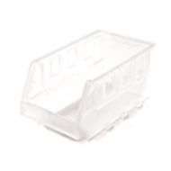 Handy Storage Size 20 Clear Plastic Tote