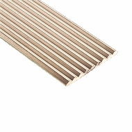 Roberts 2.0m Natural Sawtooth Stairnose Trim