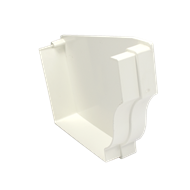 Icon Plastics PVC Gutter Stop End