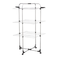 Sunfresh 1300 x 680 x 680mm Steel 3-Tier Clothes Airer