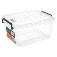 All Set Plastic Storage Container - 10L Clear