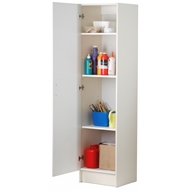 Bedford 450mm white 1 door pantry bunnings warehouse Pantry 800mm