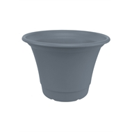 Yates 200mm Tuscan Blue Steel Round Pot