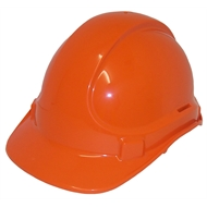 UniSafe Orange Type 1 ABS Vented Safety Helmet