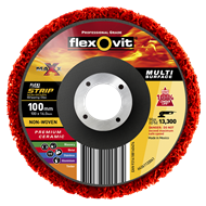 Flexovit 100mm Flexistrip Maxx Disc