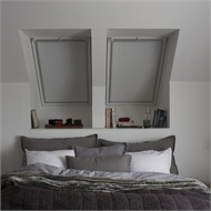 VELUX 1140 x 1180mm Manual Blockout Blind