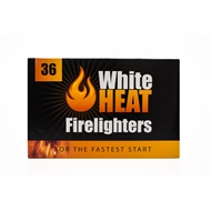 WhiteHeat Firelighters - 36 Pack