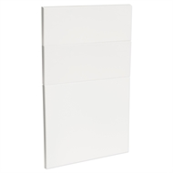 Kaboodle 450mm Gloss White Modern 3 Drawer Panels