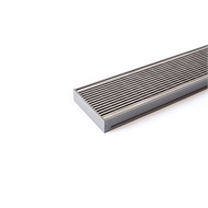 Grates 2 Go 1250mm Grey Wedge Wire Shower Grate Modular Kit