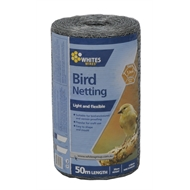 Whites 30cm x 50m x 1.3cm Bird Netting