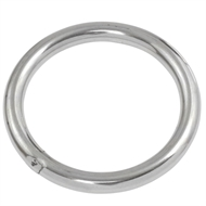SeaSpray 8 x 55mm 316 Stainless Steel Round Ring