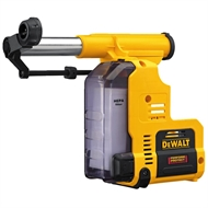 DeWALT 18V Li-ion XR Cordless HEPA Dust Extraction Unit To Suit Brushless Rotary Hammers