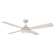 Mercator 130cm Luna Ceiling Fan with LED Light - White