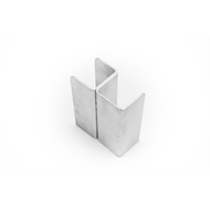 Ridgi 50mm x 50mm x 3mm 1.5m Galvanised Steel Corner Post