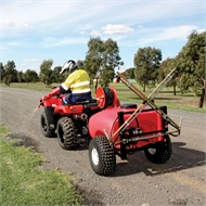 Silvan 300L Lightfoot Trailed Sprayer with Reel & 4m Folding Boom