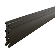 Tuff Edge 2m Olive Powder Coated Aluminium Garden Edge - 2 Pack