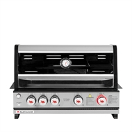 Matador Titan 4 Burner Built In Hooded BBQ