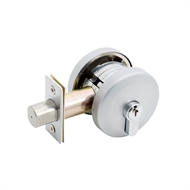 Lockwood Chrome Plated Round Double Cylinder Deadbolt