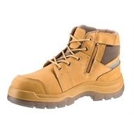 ROSSI 744B Safety Zip Side Wheat - Size 7