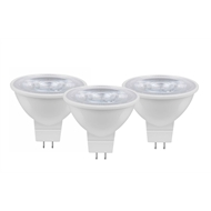 OSRAM LED Star MR16 6.5w 12V 60D 520lm Warm White Globes - 3 Pack