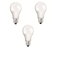Osram 10.5W 1060lm E27 Classic A Warm White LED Globe - 3 Pack
