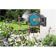 GARDENA 13mm Auto Spring Retractable Hose Reel - 25m