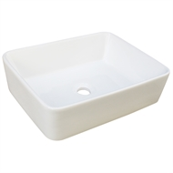 Mondella Concerto Vitreous China Above Counter Basin White