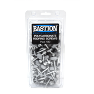 Bastion Type 17 Polycarbonate Roofing Screws - 100 Pack