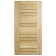 Corinthian Doors 1020 x 2040 x 40mm Blonde Oak AWOWS 19H Entrance Door