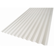 Suntuf Solarsmart 5.4m Diffused Ice Reflect Polycarbonate Corrugated Roofing