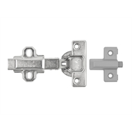 Kaboodle Chrome Hettich Push To Open Door Hinge