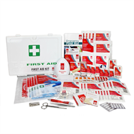 St John Ambulance Plastic Wallmount First Aid Kit