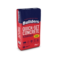 Australian Builders 20kg Quick Set Concrete