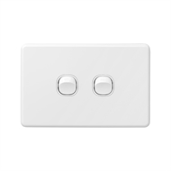 DETA X6 White Double Switch