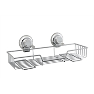 Naleon Classic Chrome Suction Large Wire Shelf
