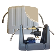 REEFE RM7000 Merino Rain to Mains System with Pressure Pump Saddle Type Cover